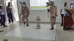 Demostración danza folclórica en la RCJ de Panamá