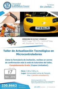 Taller Actualizacion Tecnologica Microcontroladores (estudiantes)